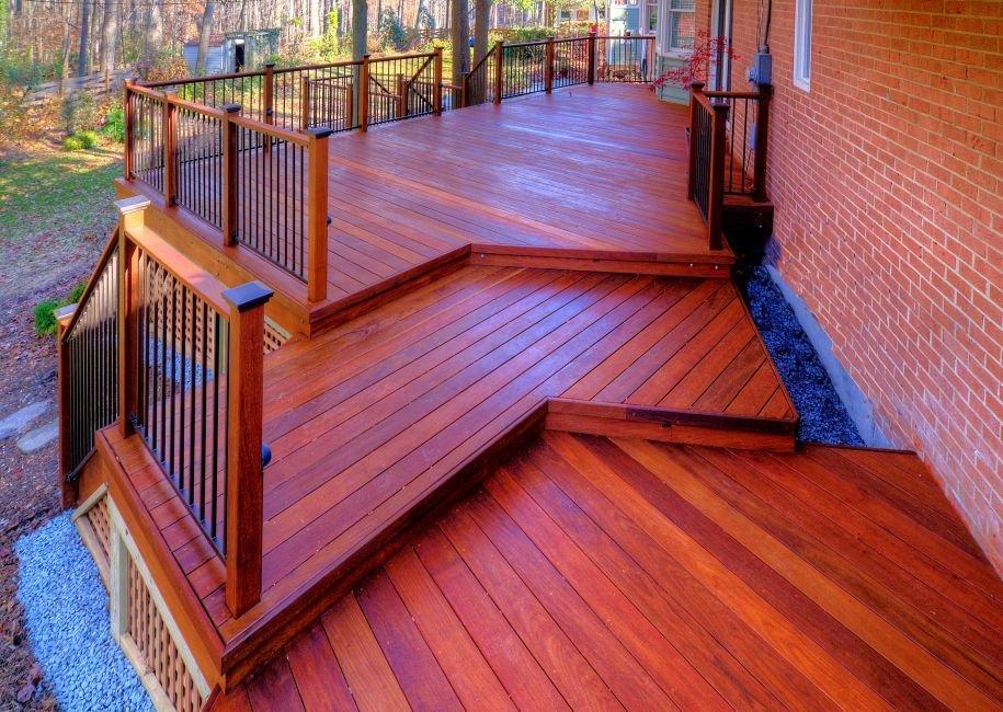 Should your virginia deck porch or pavilion pop or flow for Balcony pop design