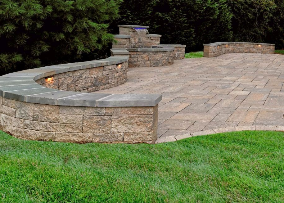 Stone patios are a northern virginia favorite for Landscaping rocks northern virginia